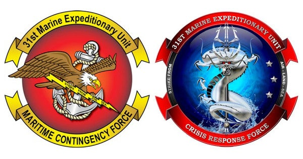 The 31st Marine Expeditionary Unit Changed Its Logo To A Water Dragon Eating A Skull