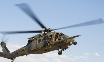Air Force Helicopter Crashed After Flying Into Power Lines In Iraq
