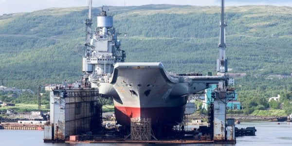 Russia's Only Aircraft Carrier Is Screwed