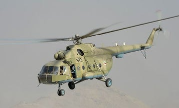 Afghan Army Helicopter Carrying Senior Officials Crashes, Killing 25