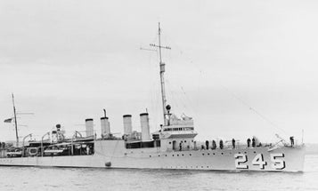 77 Years Ago On Halloween, The First US Warship Sunk By The Enemy In World War II Was Attacked By A Nazi U-Boat