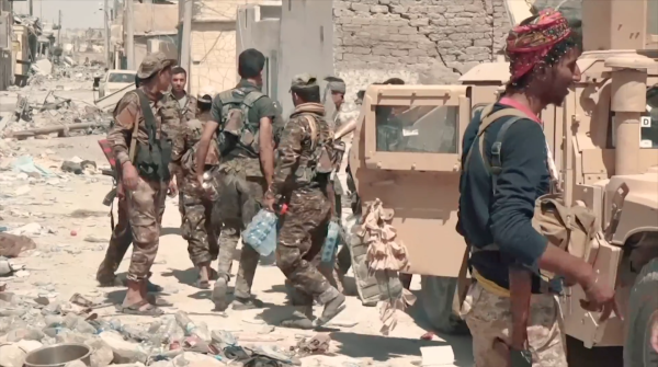The US-Backed Militia Fighting ISIS Is Once Again Dodging Bullets From Turkey