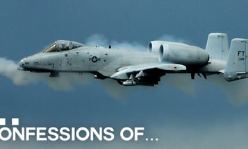 Confessions of an A-10 pilot: What it's like to fly a cannon with wings