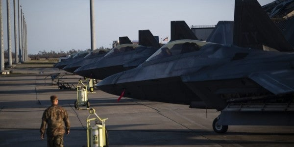 Hurricane Damage Won't Stop Most F-22s From Flying, Air Force Secretary Says