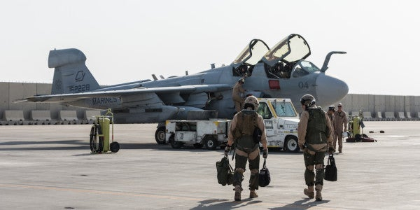 The Marine Corps Finally Bids Farewell To Its Last Prowlers