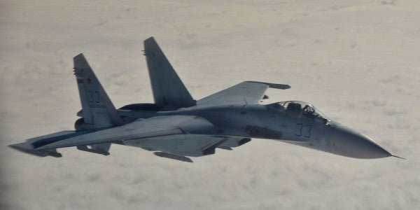 Danger Zone: Russian Fighter Comes 'Really, Really Close' To Navy Plane