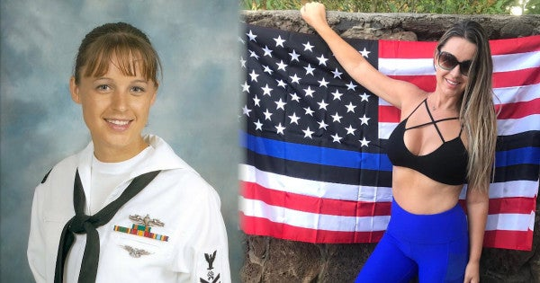 Once Homeless, This Navy Vet Says She's Competing For Maxim's Cover As A Way To Help At-Risk Youth