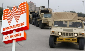 In Most Texas Story Ever, Army Convoy Stops At Whataburger On Way To The Border