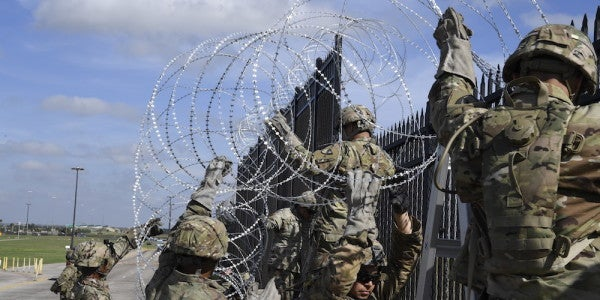 No Danger Pay For US Troops Deployed To The US-Mexico Border