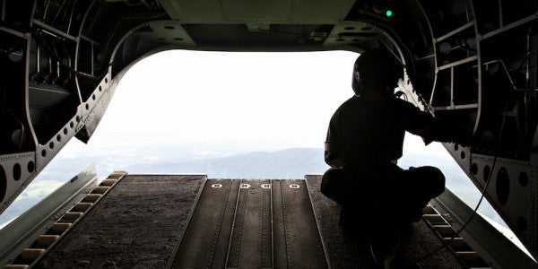 Sometimes Finding Meaning After The Military Means Not Looking For It