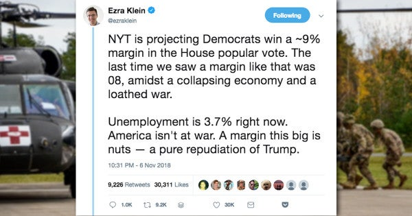 Clueless Journalist Gets Dragged For Saying 'America Isn't At War' In Election Day Tweet