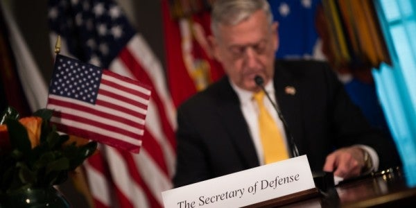 How Mattis Made The Whole Military Obsessed With 'Lethality'