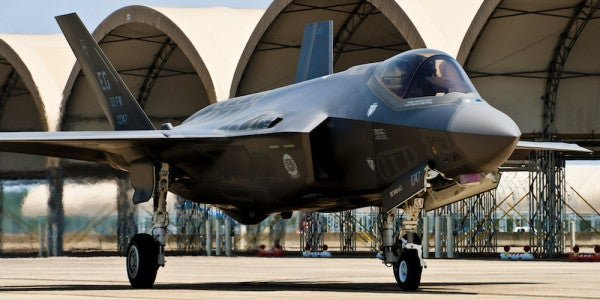 2 Airmen Struck By Lightning While Working On F-35 Joint Strike Fighter