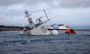 Norway Releases Footage From Inside Frigate That Sank After Getting Rammed By Tanker