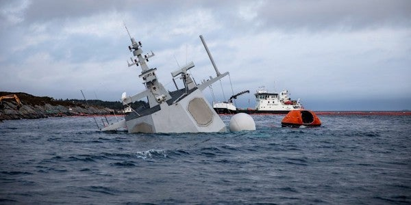 Norway Sank Its Own Frigate