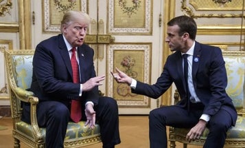 Trump Torches Allies, Threatens NATO Pullout After Tense WWI Memorial Trip To Paris