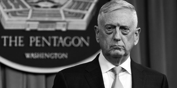 Mattis Says He Ditched The Border Mission's Name Because It Sounded Too Military