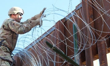 The US military's deployment to the southern border was just extended for another year