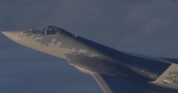 New Video Shows Russia Putting Its Most Advanced Stealth Fighter To The Test In Syria