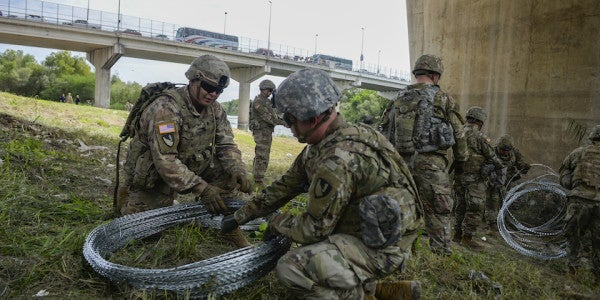 Mission Accomplished: Troops At US-Mexico Border Should Be Home By Christmas