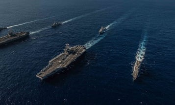 US Positions 2 Carriers In Philippine Sea In Show Of Strength To China