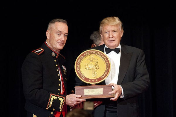 Trump Reportedly Thought General Dunford Made $5 Million A Year