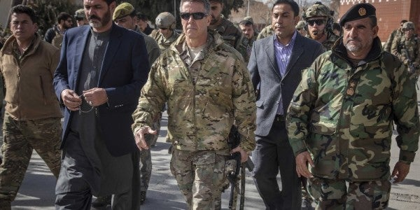 The Real Reason Why The Top US General In Afghanistan Carried An M4 Carbine