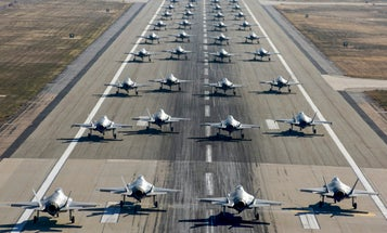 Photo of the Day: 36 F-35s