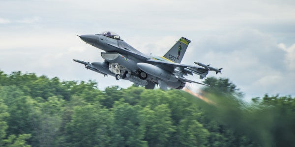 When Booty Calls: A Vermont Air Guard Commander Allegedly Used An F-16 For A Romantic Getaway