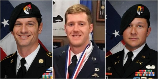DoD Confirms Air Force Combat Controller, 2 Green Berets Died In Afghan IED Blast