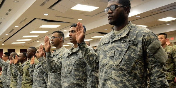 Young Immigrant Recruits In The US Military Worry They Could Be Deported