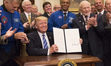 Trump Loves The Space Force. Can He Convince Everyone Else?