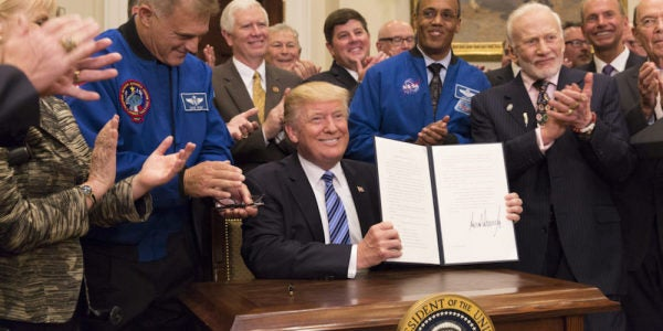 The White House Is Reportedly Not Sold On Trump's Vision For A Standalone Space Force