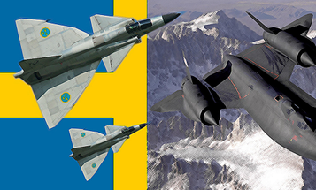 Swedish Pilots Awarded US Air Medals For Classified Cold War Blackbird Escort Op