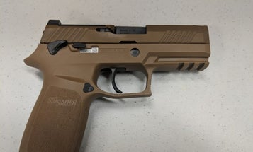 Airmen are finally about to receive their first new pistol in 35 years