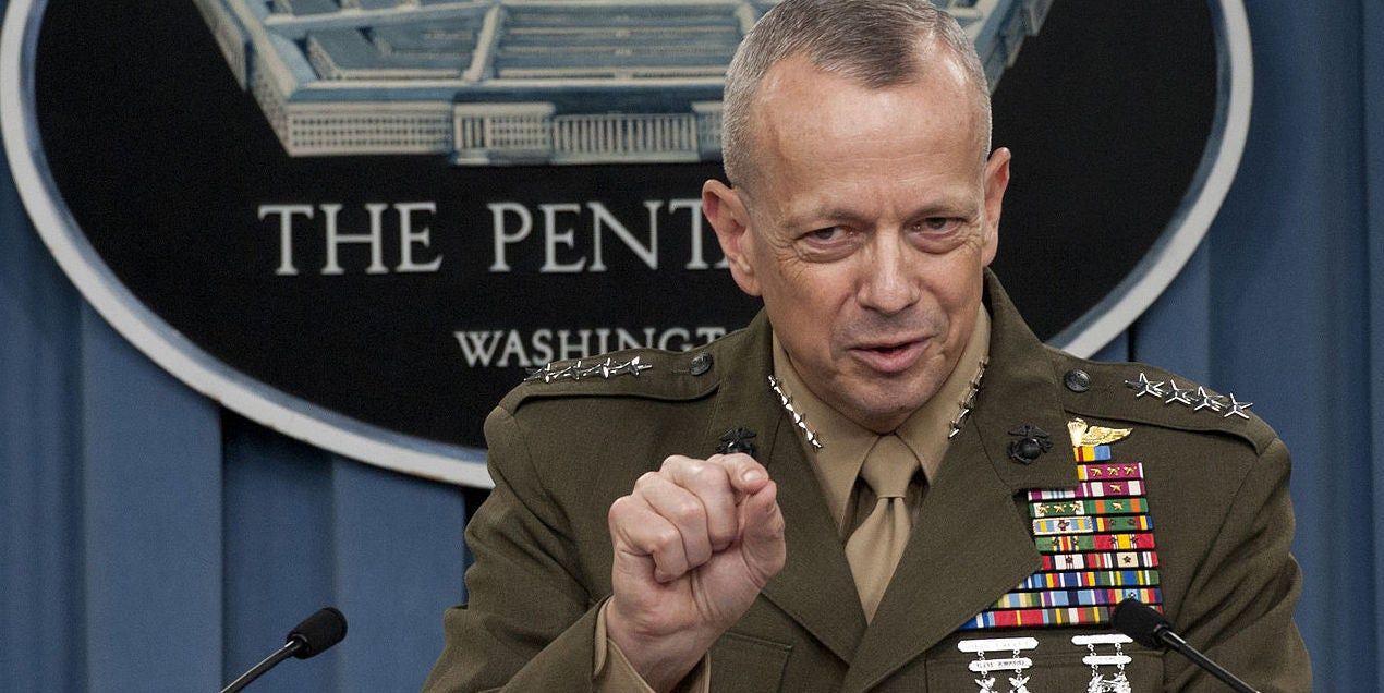 US drawdown in Afghanistan is wrong call, says commander who claimed we were on the 'road to winning' in 2013