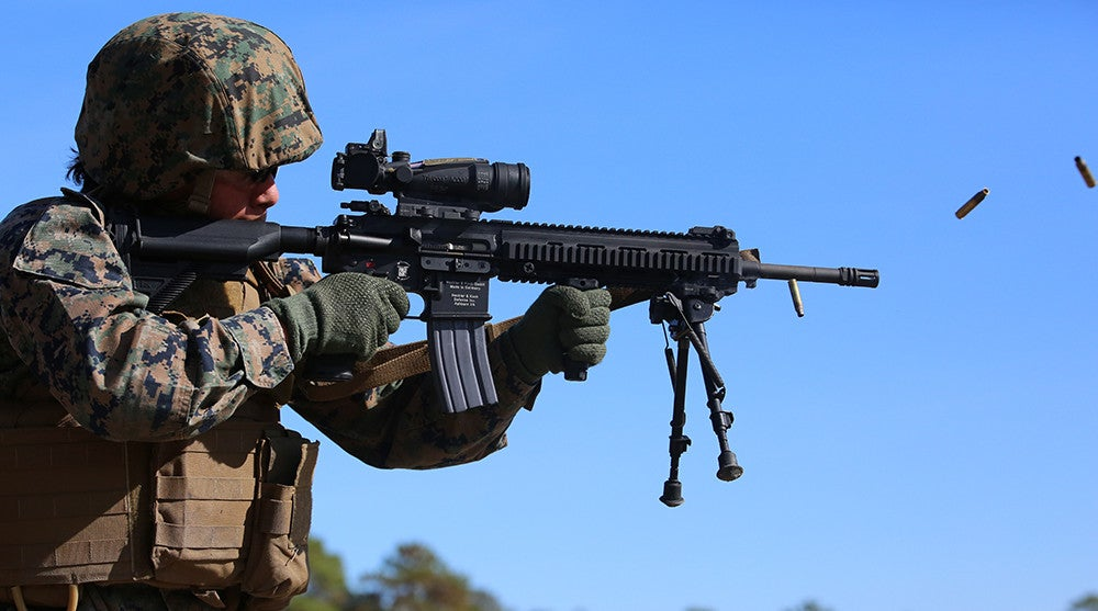 No, the Marine Corps is not replacing the M27 with the Army's next-generation squad weapon after all