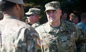 Joint Chiefs chairman foresees no military role in resolving disputed election