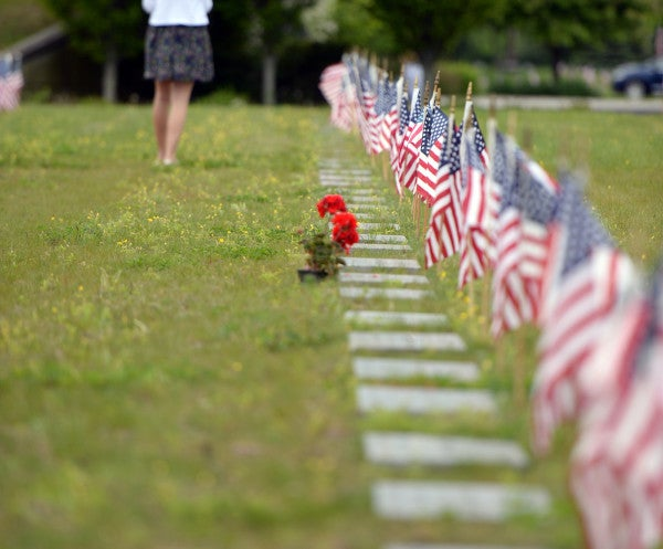 Families of Veterans Want Dogs Banned From Cemetery