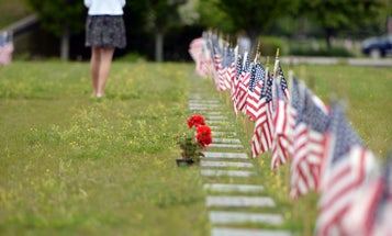'It feels like there's a void' — Suspension of military honors at national cemetery burials compounds loss for families