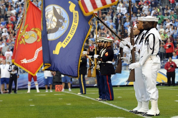 7 NFL Players Who Served In The Post-9/11 Military