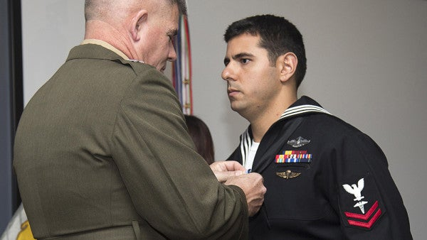 UNSUNG HEROES: The Navy Corpsman Who Killed The Shooter In An Afghan Insider Attack