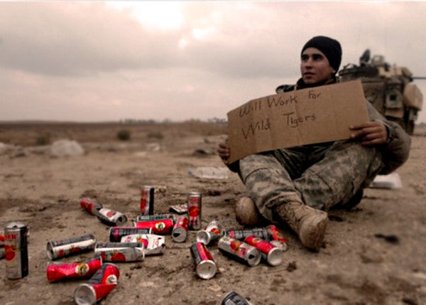How a local energy drink became an icon of the Iraq War