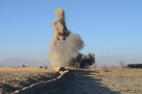 A Team Of ISIS Militants Accidentally Blew Themselves Up In Afghanistan