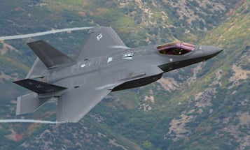 The Cost Of The Air Force's F-35 Is Supposed To Drop By 2019
