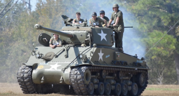 There's A Fully Restored WWII Sherman Tank On eBay Right Now