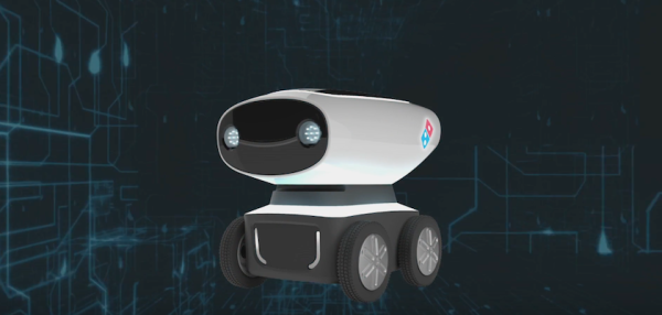 Domino's Creates Pizza-Delivering Robot With Military Technology