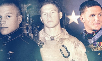 MoH Recipient Kyle Carpenter Remembers The Day He Stepped On The Yellow Footprints