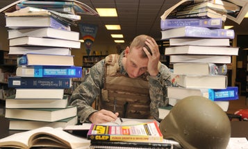 Here are 3 degree paths that may be a natural fit for military members