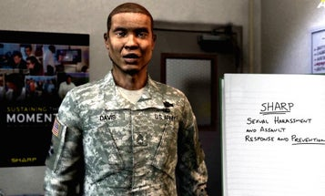 In The Army, Sexual Harassment Training Is Now Literally A Game